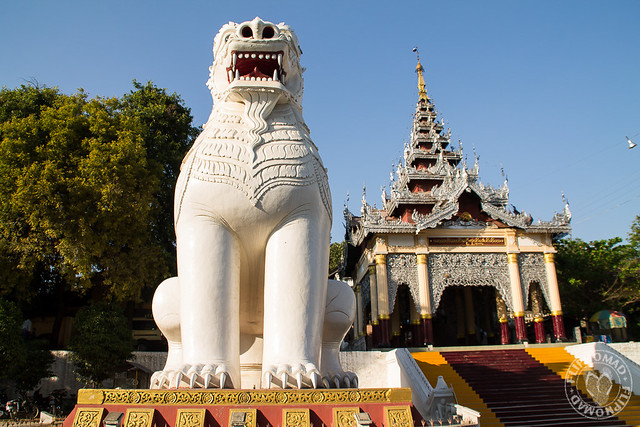 Mingun and Mandalay Hill