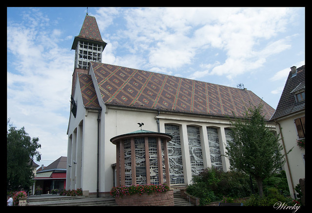 Alsacia Colmar Riquewihr Haut-Koenigsbourg Santa Odilia Estrasburgo - Iglesia de Bennwihr