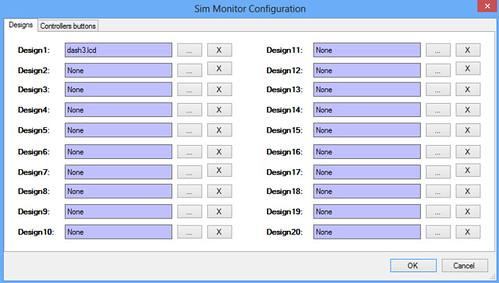 Sim Monitor Config 3