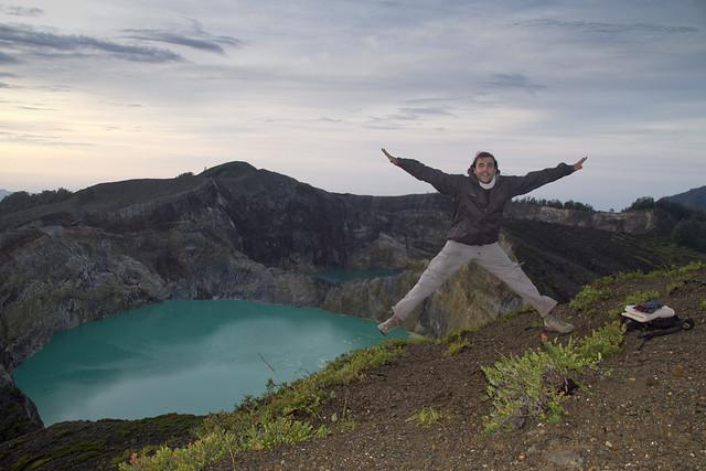 Volcan Kelimutu, Flores, Indonesia