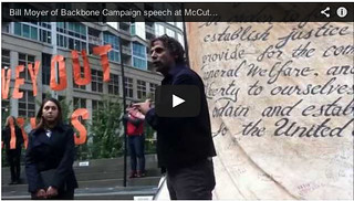 Bill    Moyer of Backbone Campaign speech at McCutcheon VS FEC Event in    Seattle 10-10-13