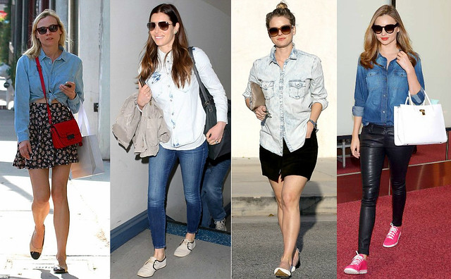 denim-shirts, how to wear denim overall, how to wear denim jumpsuit, how to style denim jumpsuit, how to wear denim jacket, how to style denim jacket, how to wear denim vest, how to style denim vest
