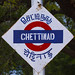 Chettinad Train Station Sign, India by Eric Lafforgue Photography