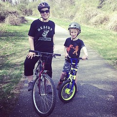 #Bike ride with my boy! #SpringBreak #picoftheday