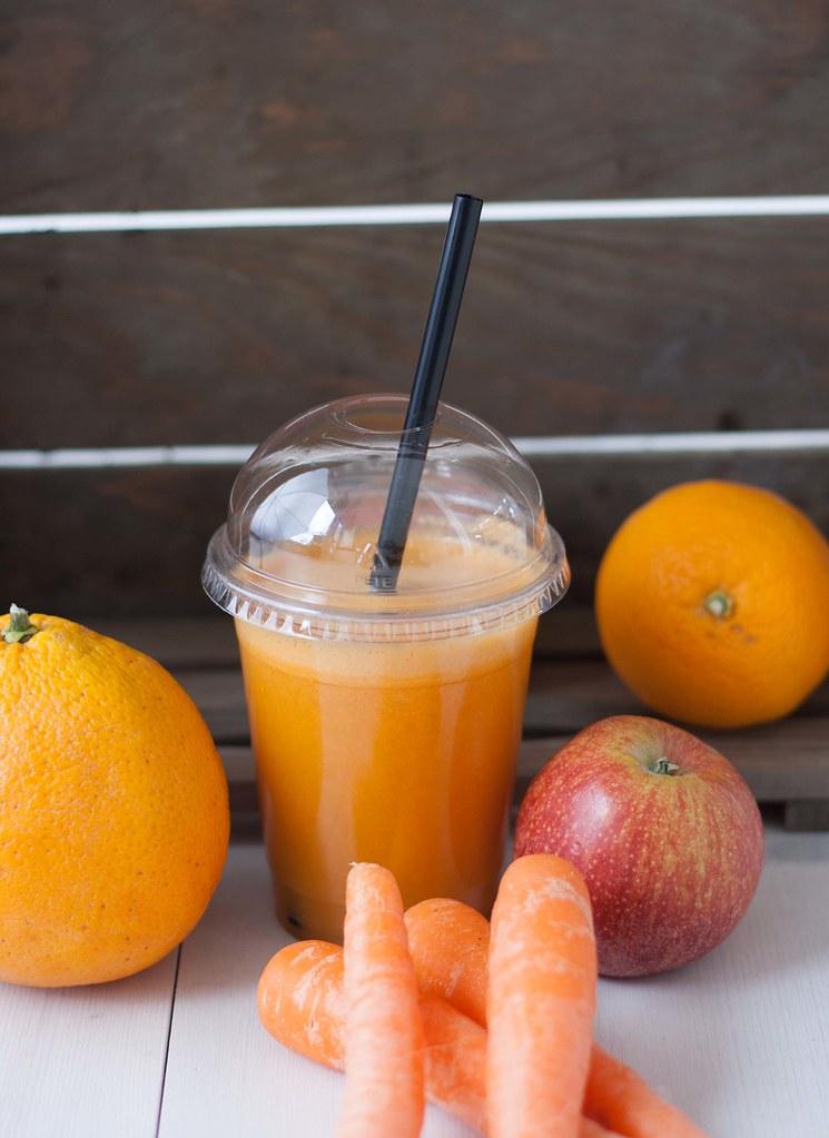 Gulerodsjuice med æble og appelsin (7)
