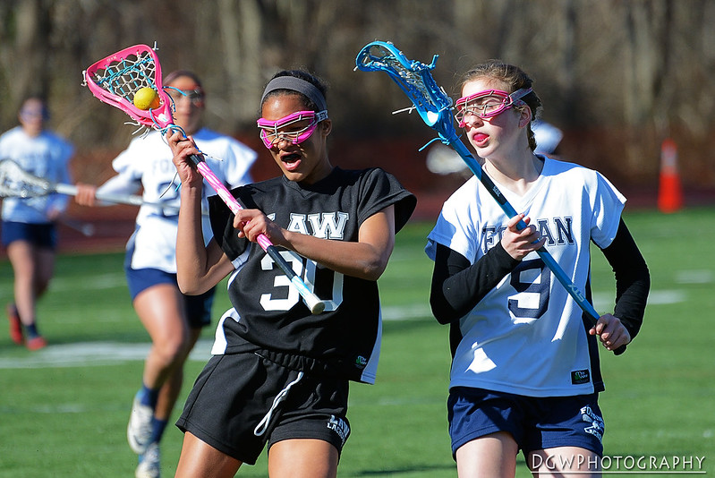 Foran High vs. Jonathan Law Girls Lacrosse