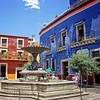 One of the many plazas in historic Guanajuato #mexico #guanajuato #plaza #fountain