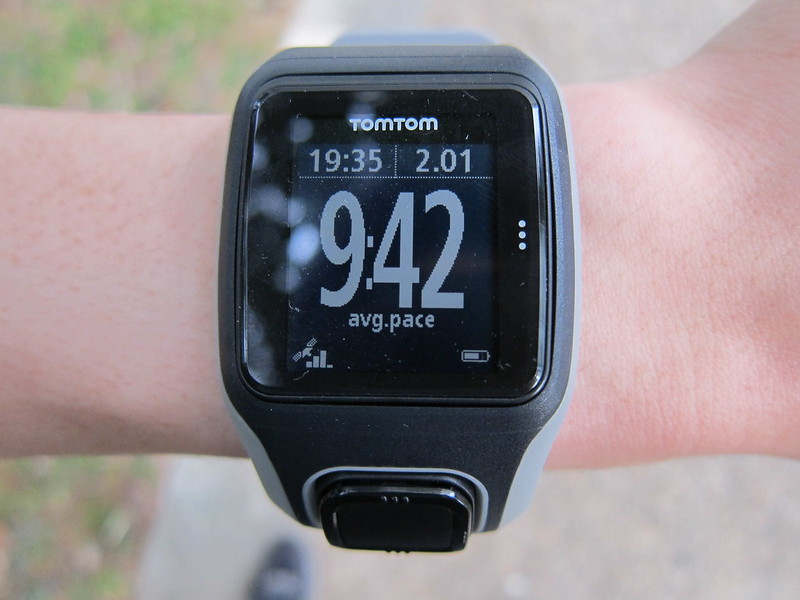TomTom Multi-Sport GPS Watch - Running - Average Pace