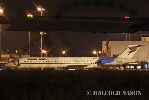 MD83 N589BC COLOMBE AIRLINE