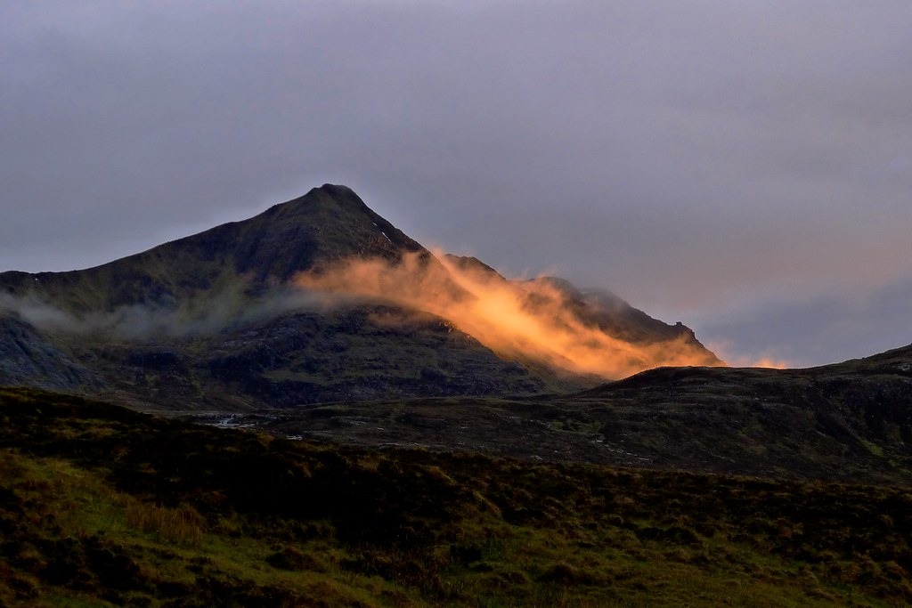 Slioch at sundown
