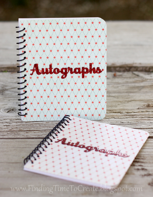 Autograph Books by Kelly Wayment