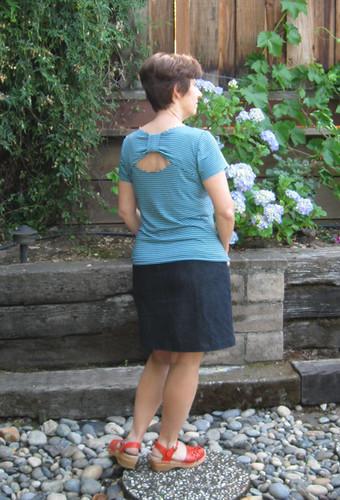 Lekala Tee back side