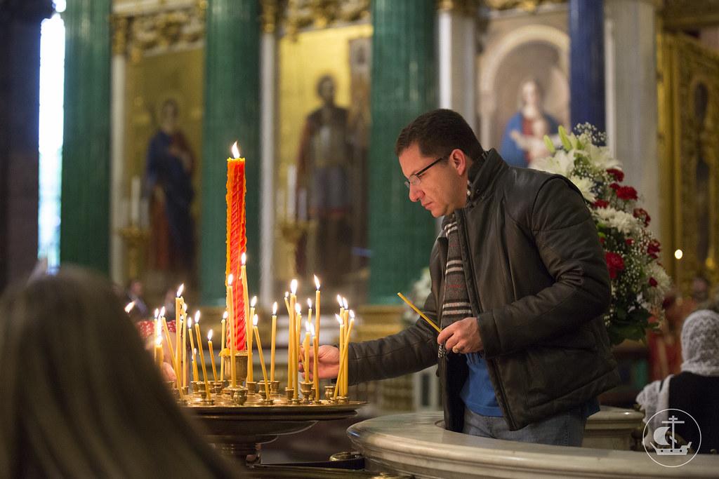 27 мая 2014, Литургия в Исаакиевском соборе / 27 May 2014, Liturgy at St. Isaac's Cathedral
