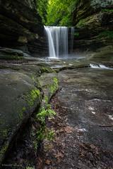 Waterfalls at LaSalle Canyon