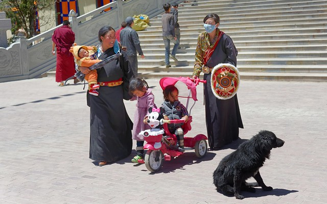 Minnie Mouse in Tibet. 2014