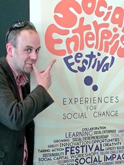 adrian Ashton at the social enterprise festival 2015