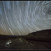 Star Trails over Salt Creek by maguire33@verizon.net