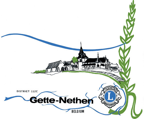 Fanion du Lions Club Gette-Nethen