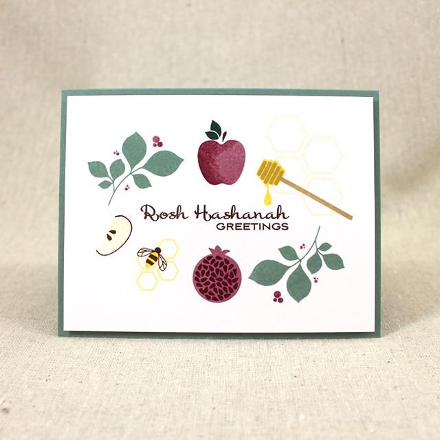 Rosh Hashanah Elements Card