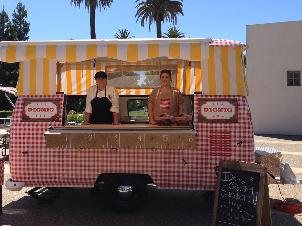 Ice Cream Truck on campus!