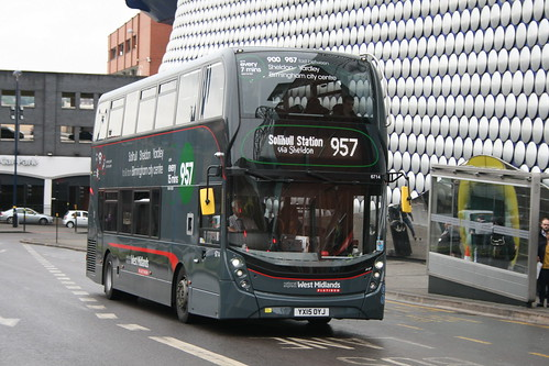 NXWM 6714 on Route 957, Bullring
