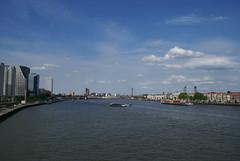 Nieuwe Maas vanaf de Erasmusbrug
