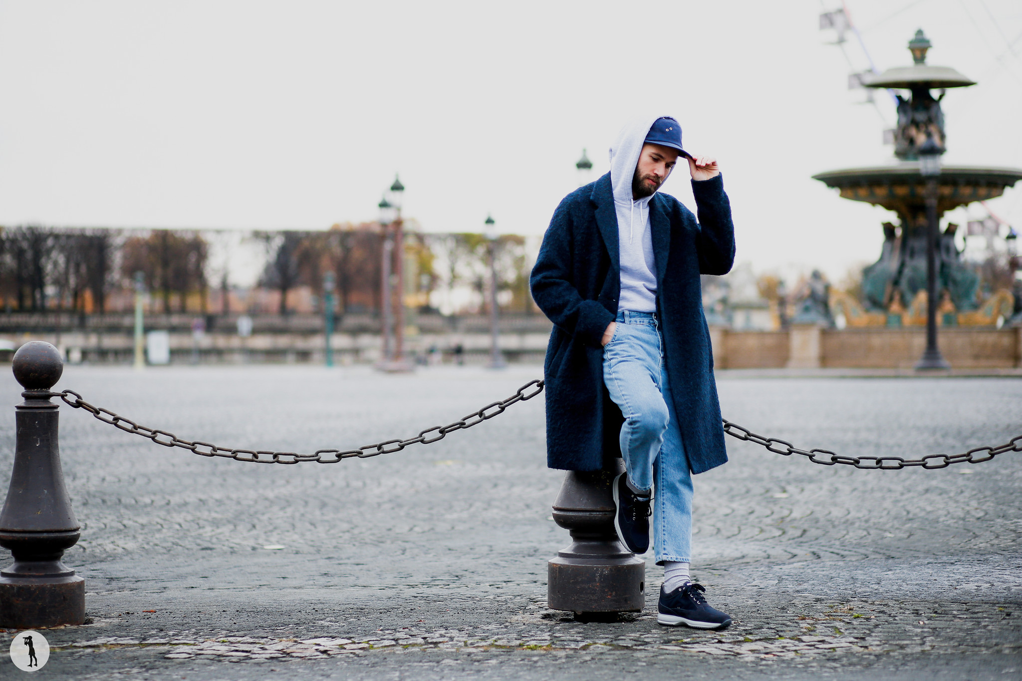 Street style shooting for Hogan - Paris