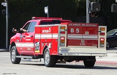Los Angeles CA Fire Dept - Battalion 5 - Ram 3500 Truck (4)