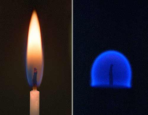 Lửa là gì? tại sao khi cháy lửa có màu xanh? hình dạng của ngọn lửa