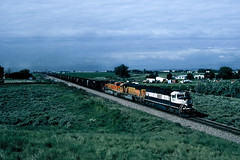 BNSF Coal Empties