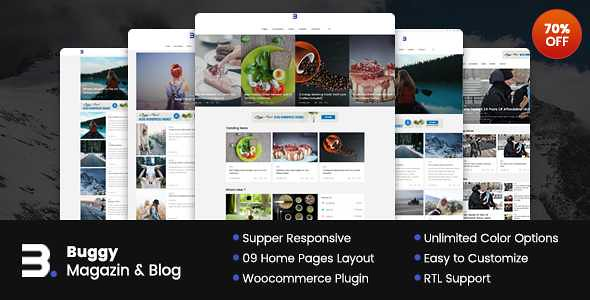 Buggy WordPress Theme free download