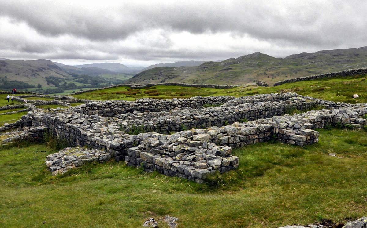 Hardknott Roman Fort, Lake District. Credit Paul Hermans