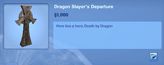 Dragon Slayer's Departure