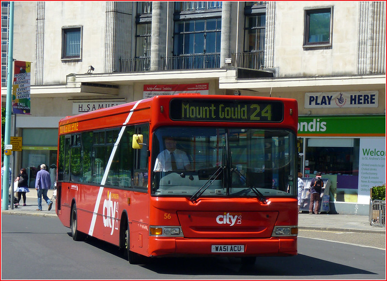 Plymouth Citybus 056 WA51ACU