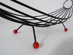 Atomic wire fruit basket