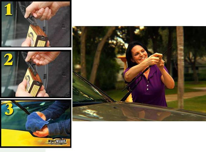 how to clean an old plastic windshield