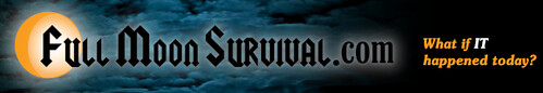 Full Moon Survival Banner Logo