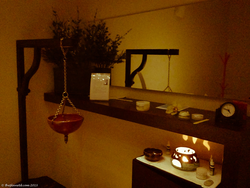spa massage room italy