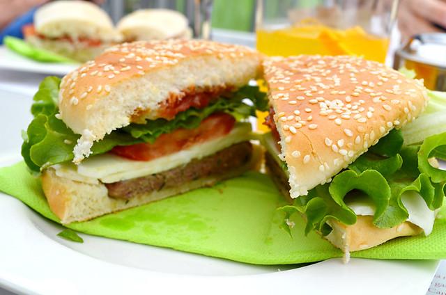 Cochino negro burger, Humboldt's Mirador, La Orotava, Tenerife