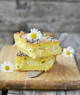 Cabbage Filled Pie