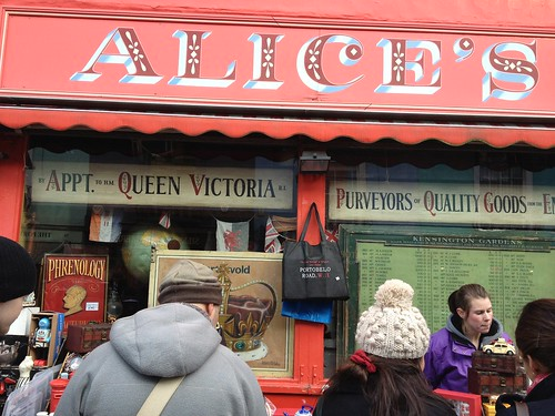 Alice's on Portobello Road