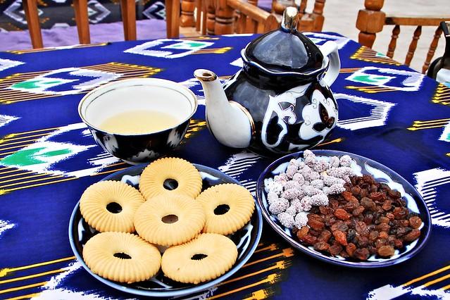 烏茲別克的國民茶飲
