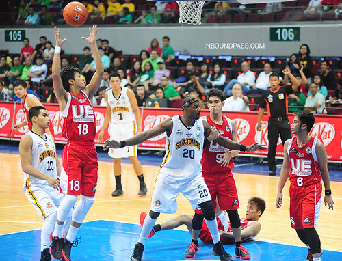 UAAP Season 76: UST Growling Tigers vs. UE Red Warriors, July 13