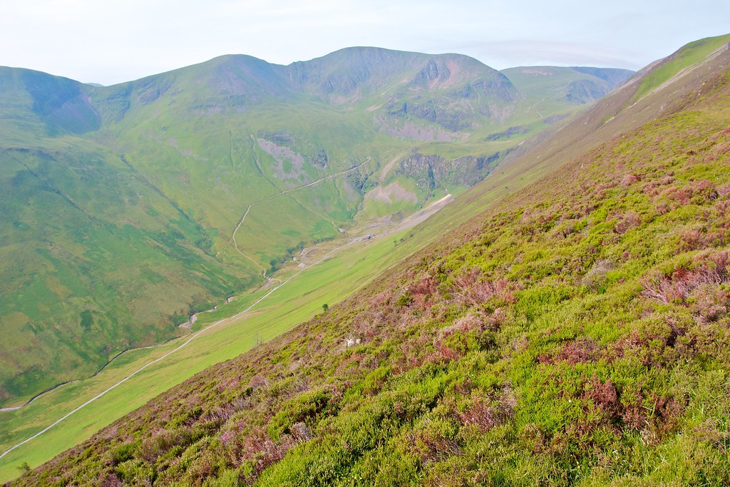 Upper Coledale and Crag Hill