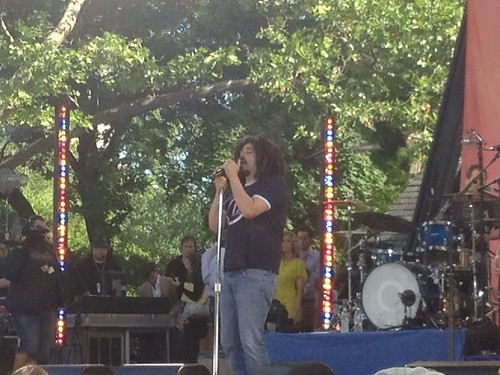 Free Counting Crows Concert in Central Park