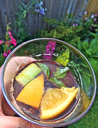 Pimm's O-Clock in the Garden This Afternoon ...(202/365) by Irene_A_