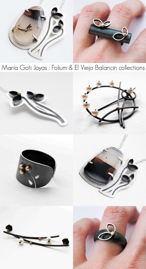 María Goti Joyas : Folium and El Viejo Balancin collections | Emma Lamb