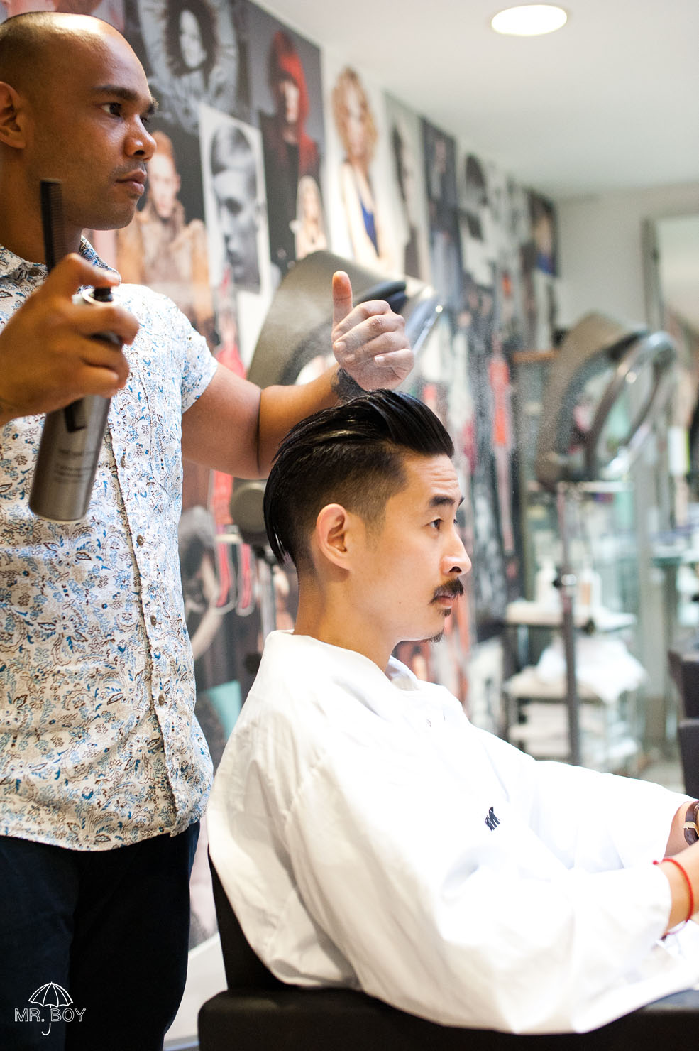 Japanese Hairdresser Covent Garden: Mr. Boy: Grooming Feature: Monthly Trim