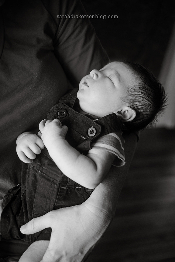 Liberty Missouri newborn baby portraits