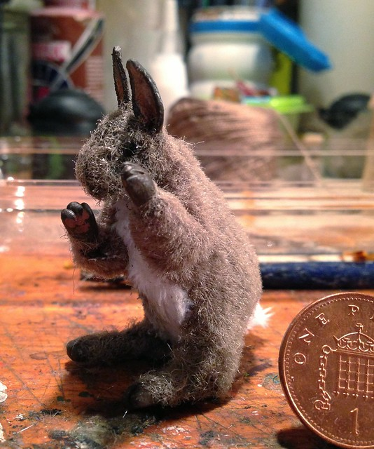 1/6 scale poseable Rabbit
